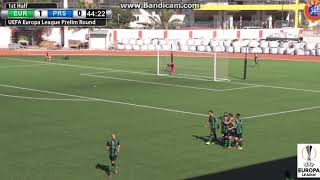 Europa FC - Prishtina FC 1-1 All Goals