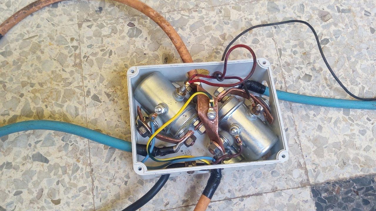 DIY WINCH CONTROL BOX - YouTube | Winch Control Box Wiring Diagram |  | YouTube