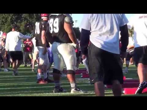 6-18-19-2015 STANFORD UNIVERSITY ALL POSITION CAMP WITH HEAD COACH DAVID SHAW AND STAFF 1