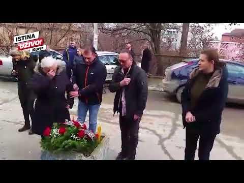 MUK U KOSOVSKOJ MITROVICI: Srceparajući prizor na mestu gde je ubijen Oliver Ivanović!