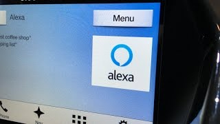 Amazon Alexa in a Ford
