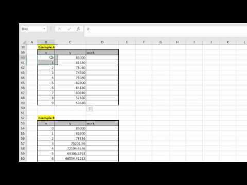 excel pattern recognition 2017