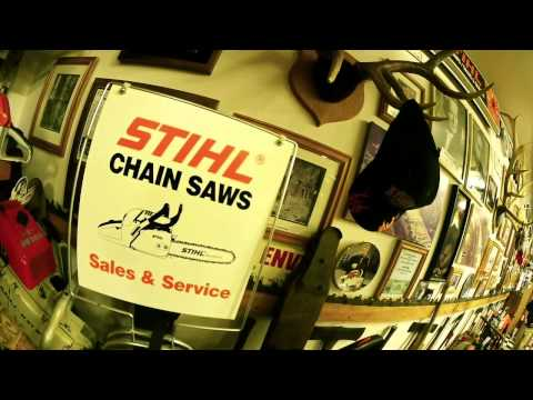 Wayne's Chainsaw Museum - The Ultimate STIHL Collection