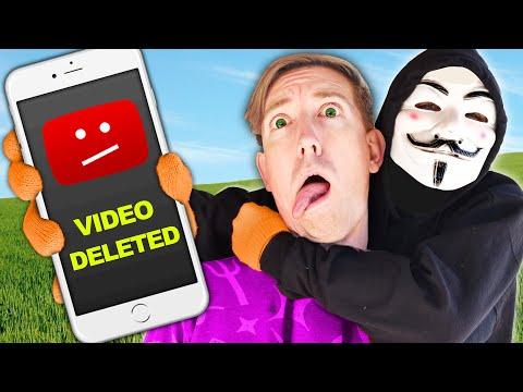 My YouTube Account Is Hacked! Spy Ninjas Compete In Girls Vs Boys DIY Challenges To Stop Hacker Vlog