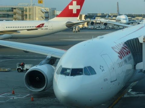 SWISS Intl + Global Air Lines/New York JFK - Zurich -Brussel