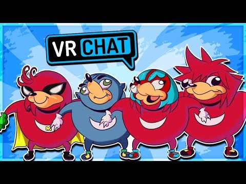 YOU DO NOT KNOW THE WAY - Ugandan Knuckles Tribe! (VRChat Funny Moments)