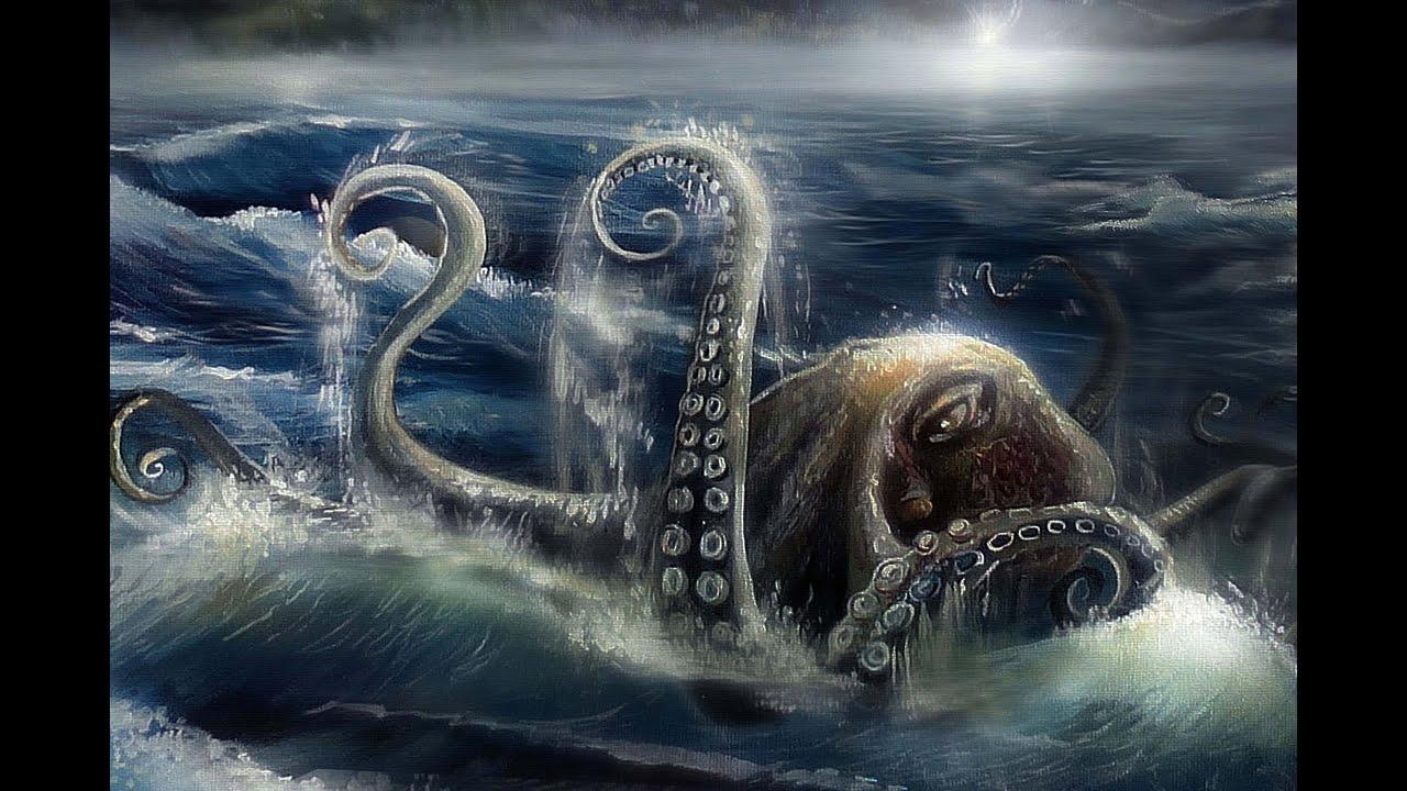 giant octopus attacks man - photo #38