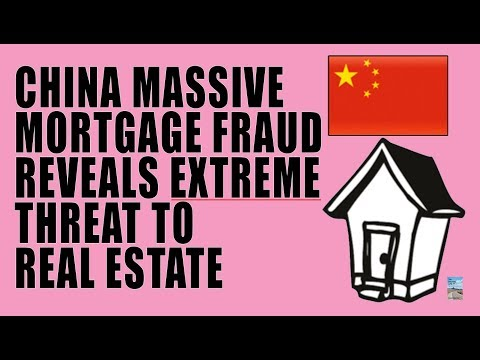 China Real Estate Crisis as MORTGAGE FRAUD Exactly Same as U.S. in 2007!