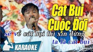 Cát Bụi Cuộc Đời Karaoke Quang Lập (Tone Nam)   Nhạc Vàng Bolero Karaoke