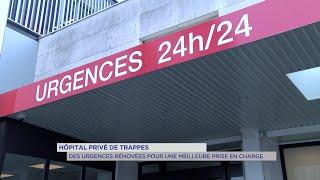 Yvelines | Hôpital privé de Trappes : des urgences rénovées pour une meilleure prise en charge