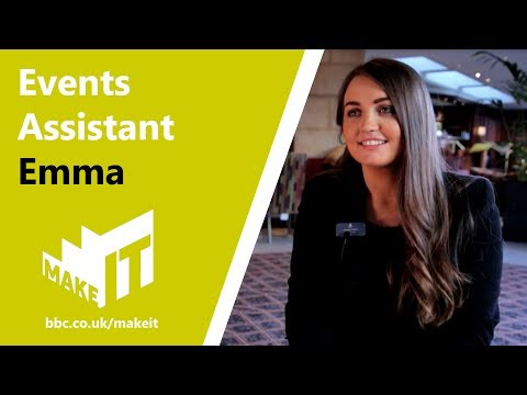 EVENTS ASSISTANT  |  Make It Into: Hotels