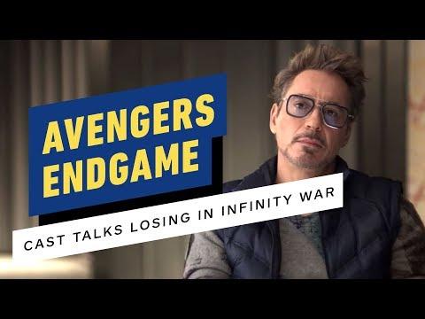 Avengers: Endgame Cast Talks Losing in Infinity War (Robert Downey Jr., Chris Evans)