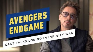 Avengers: Endgame Cast Talks Losing in Infinity War (Robert Downey Jr., Chris Evans)