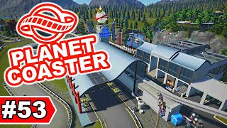 Neue Boxengasse im F1-Bereich | Planet Coaster Let's Play #53