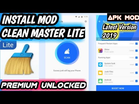 CLEAN MASTER LITE FOR LOW-END PHONE FINAL MOD 2019 | Premium Unlocked  Adfree Latest Version