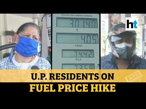Petrol, diesel prices hiked in UP: Watch people's reaction