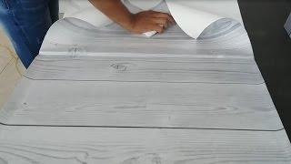 Gambar cover Como forrar  o decorar una superficie con vinilo adhesivo o papel contact