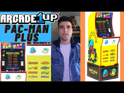 ARCADE1UP PAC-MAN PLUS CABINET 2020 from Brick Rod