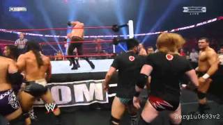 WWE Extreme Rules 2011 - Tag Team Lumberjack Highlights HD