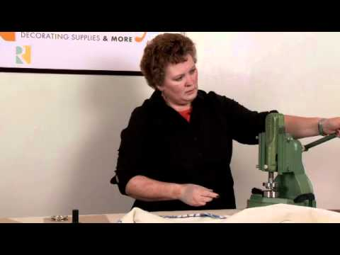 Cutting and Setting Grommets