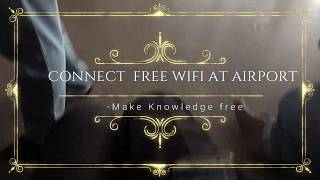 how to connect to wifi at airport