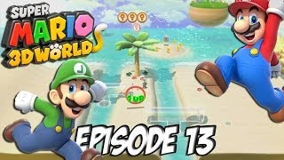 Super Mario 3D World: Let's Fun | La plage, les crabes, les ennuis | Episode 13 Thumbnail