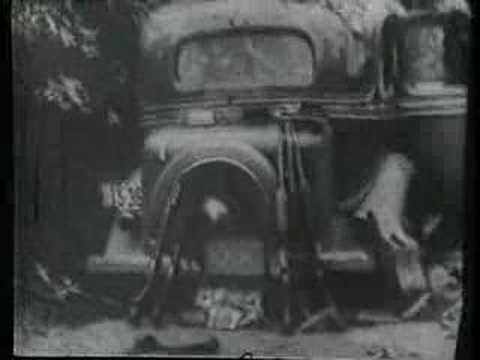 Bonnie and Clyde Death Scene
