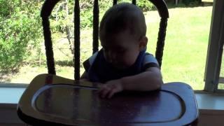 Will@mar Vista In Old Wooden Highchair