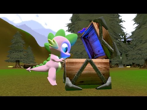 cursed-pony-magic:-spike