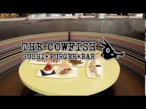 Entertain Your Party At The Cowfish Sushi & Burger Bar