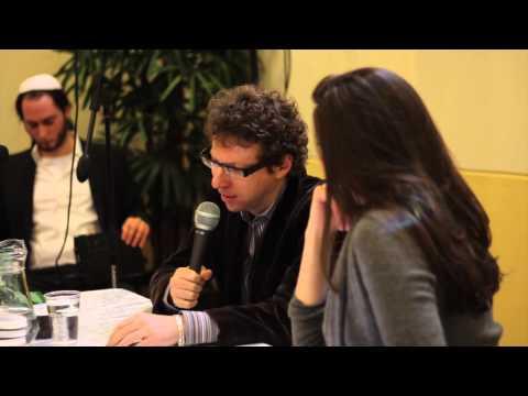Ronit Palache interviews Arnon Grunberg