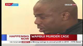 Wambui murder case: Kori breaks into tears in court