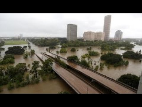 Houston store looted after Hurricane Harvey