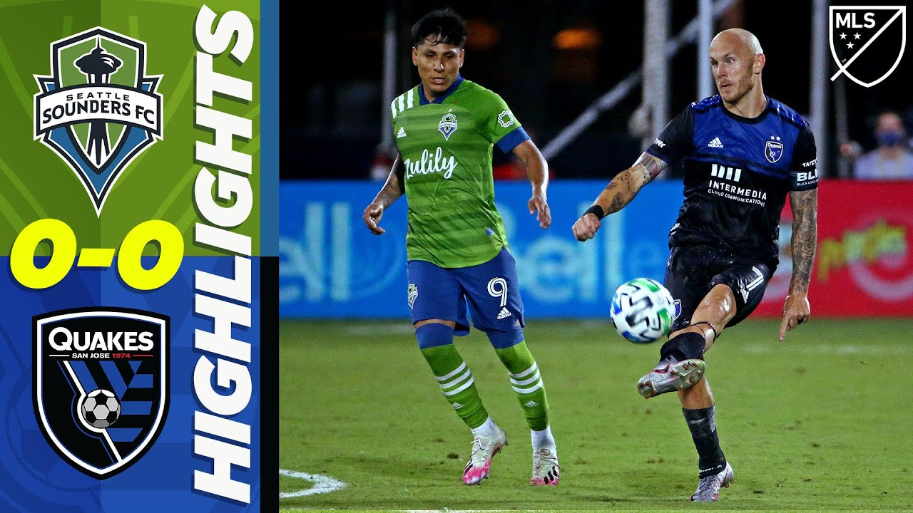 Seattle Sounders FC 0-0 San Jose Earthquakes | The Champions are Contained | MLS Highlights