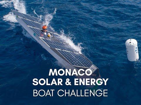 Monaco Solar & Energy Boat Challenge 2019 - Teaser - YouTube