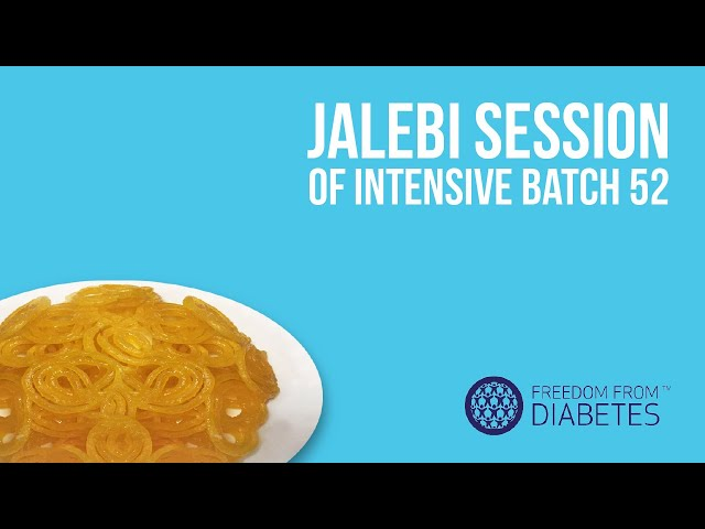 """Witness the most exciting event for diabetics - """"The Jalebi ..."""