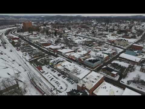 Radford Virginia Drone Video