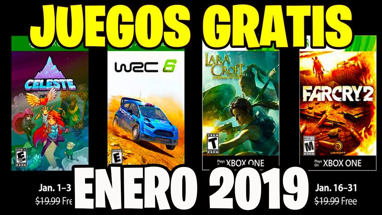 Games With Gold Juegos Gratis Confirmados Xbox 360 Y One Enero 2019