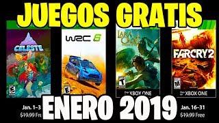 GAMES WITH GOLD: JUEGOS GRATIS CONFIRMADOS XBOX 360 Y ONE ENERO 2019 !!