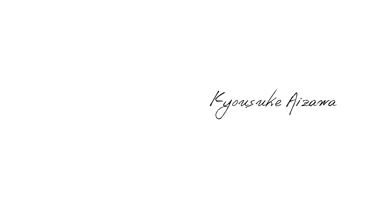 360degrees interVIEWS/ Kyousuke Aizawa
