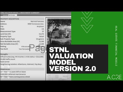 Changes To The STNL Valuation Model In V2 0