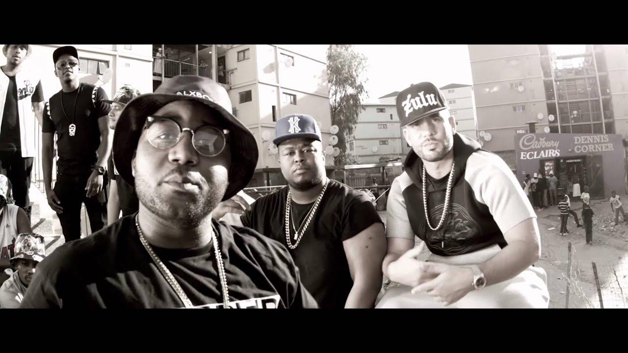 Cassper Nyovest Ft. DJ Drama & Anatii - Ghetto (Official Music Video)