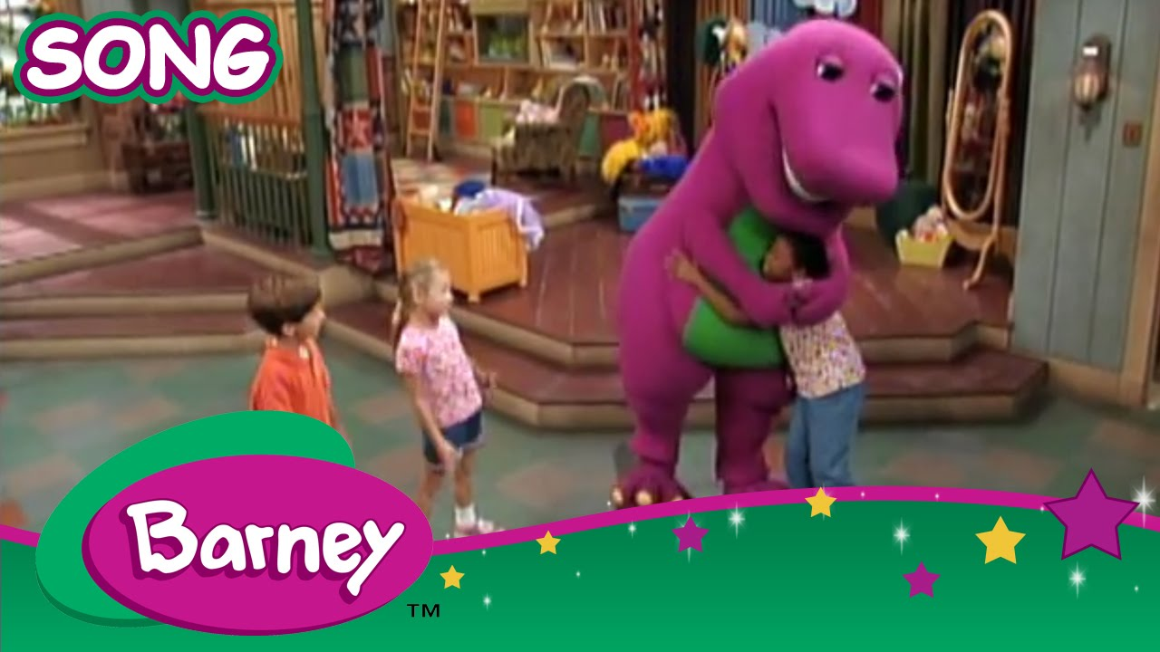 English Rhymes, Songs & Stories: Barney: If All The Raindrops