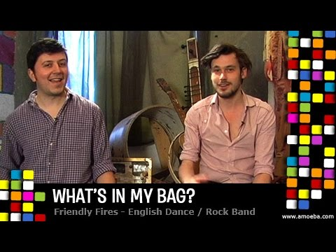 Friendly Fires - What's In My Bag? Mp3