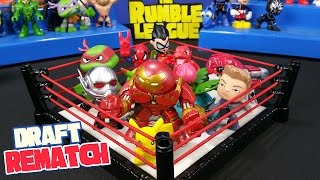 Shake Rumble REMATCH with Pokemon Go Toys and Teen Titans Go | RUMBLE LEAGUE by KID CITY