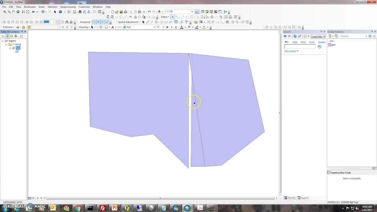 How to clean up slivers around polygons in ArcGIS