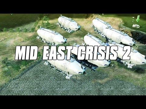 Mideast Crisis 2 IDF ARK FLEET - Command and Conquer 3 Mod