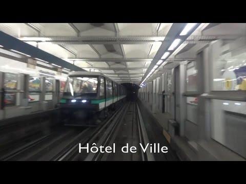 Paris Metro - Line 1 - La Défense - Château de Vincennes