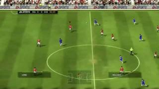 FIFA 09 Match Manchester United vs Chelsea