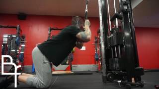 Kneeling Cable Crunches